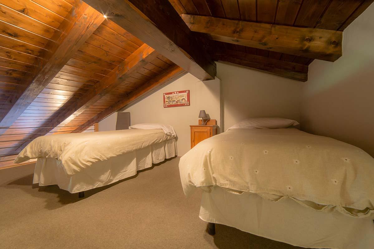 Camere del Hotel Villamour di La Salle Morgex